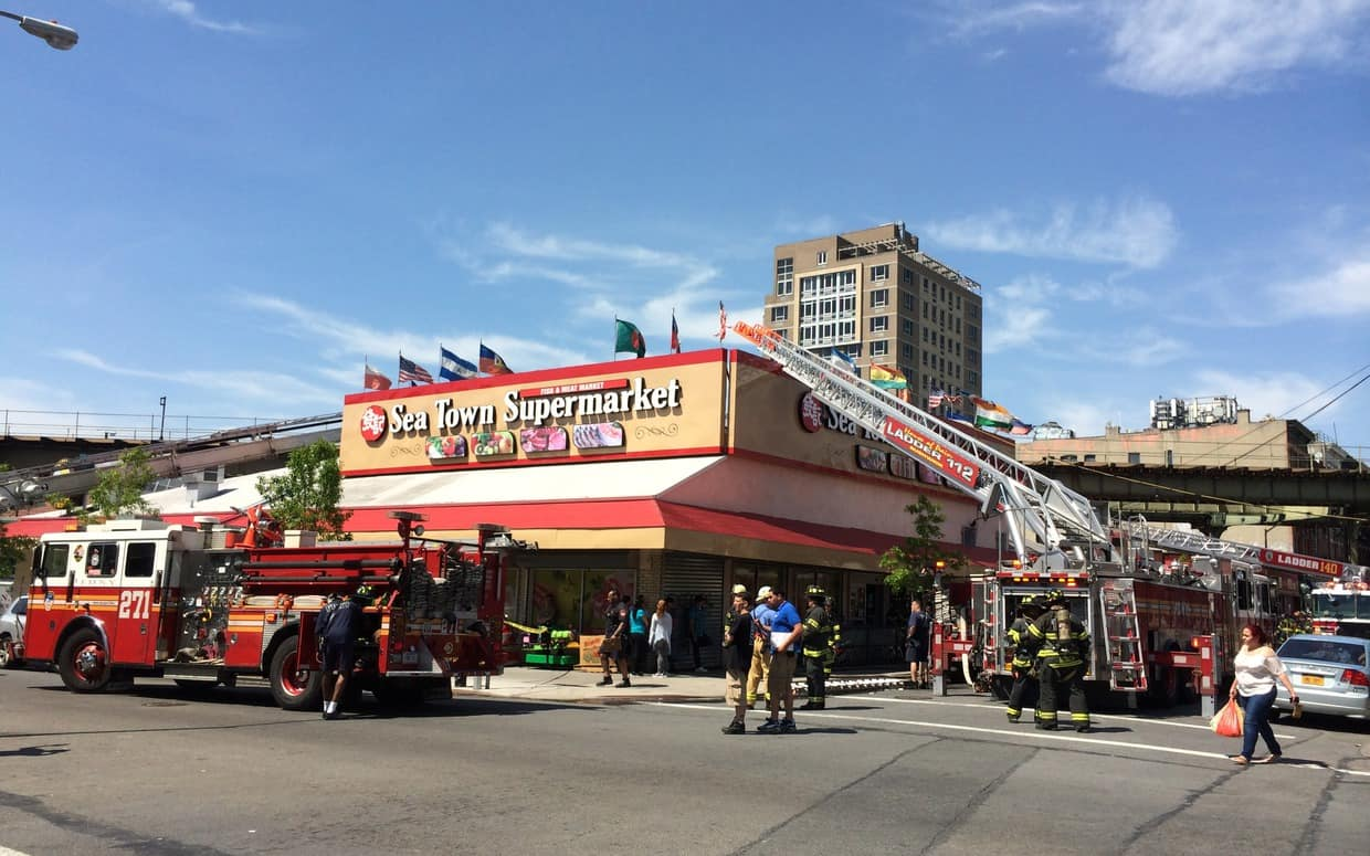 Memorial Day Brought Fire to Sea Town Supermarket in Bushwick