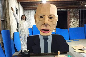 This Giant Bernie Sanders Effigy Will Eat Your Student Loans This Weekend