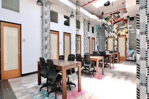 BKLYN Commons, a Coworking Space That Knows What's What Opens With a Bang