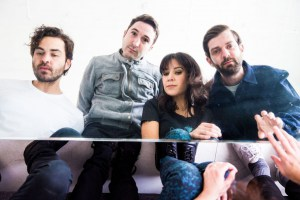 """Monograms Share Debut LP """"Living Wire"""""""