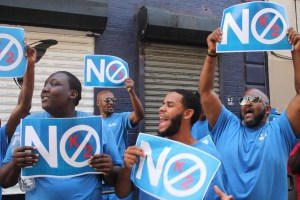 No K2! Bushwick Community and Business Owners Join the Doe Fund March Against the Drug