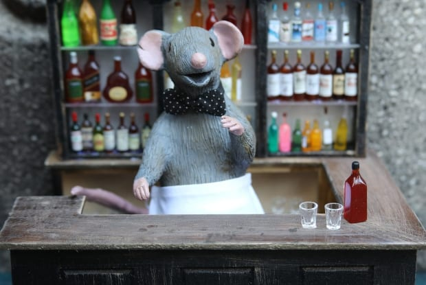 """A Bushwick Artist Is Giving Rats a Place to Wet Their Whiskers at """"Squeakeasies"""""""
