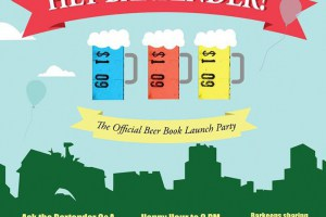 Hey Bartender and Bar Attender, Get Your Beer Books Tonight!